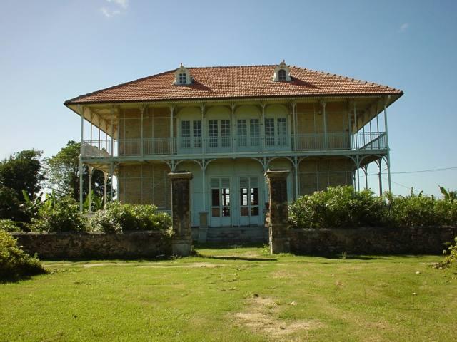 photo de la maison coloniale de zevallos au moule
